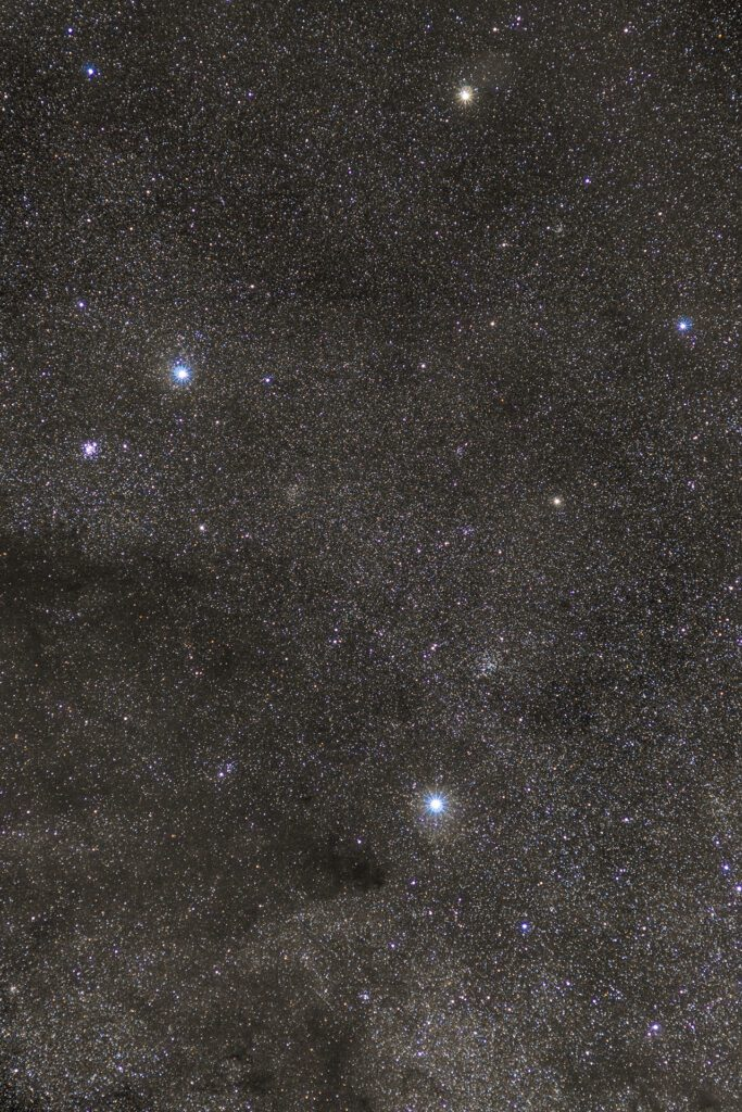 Crux and Coalsack Nebula (C99)